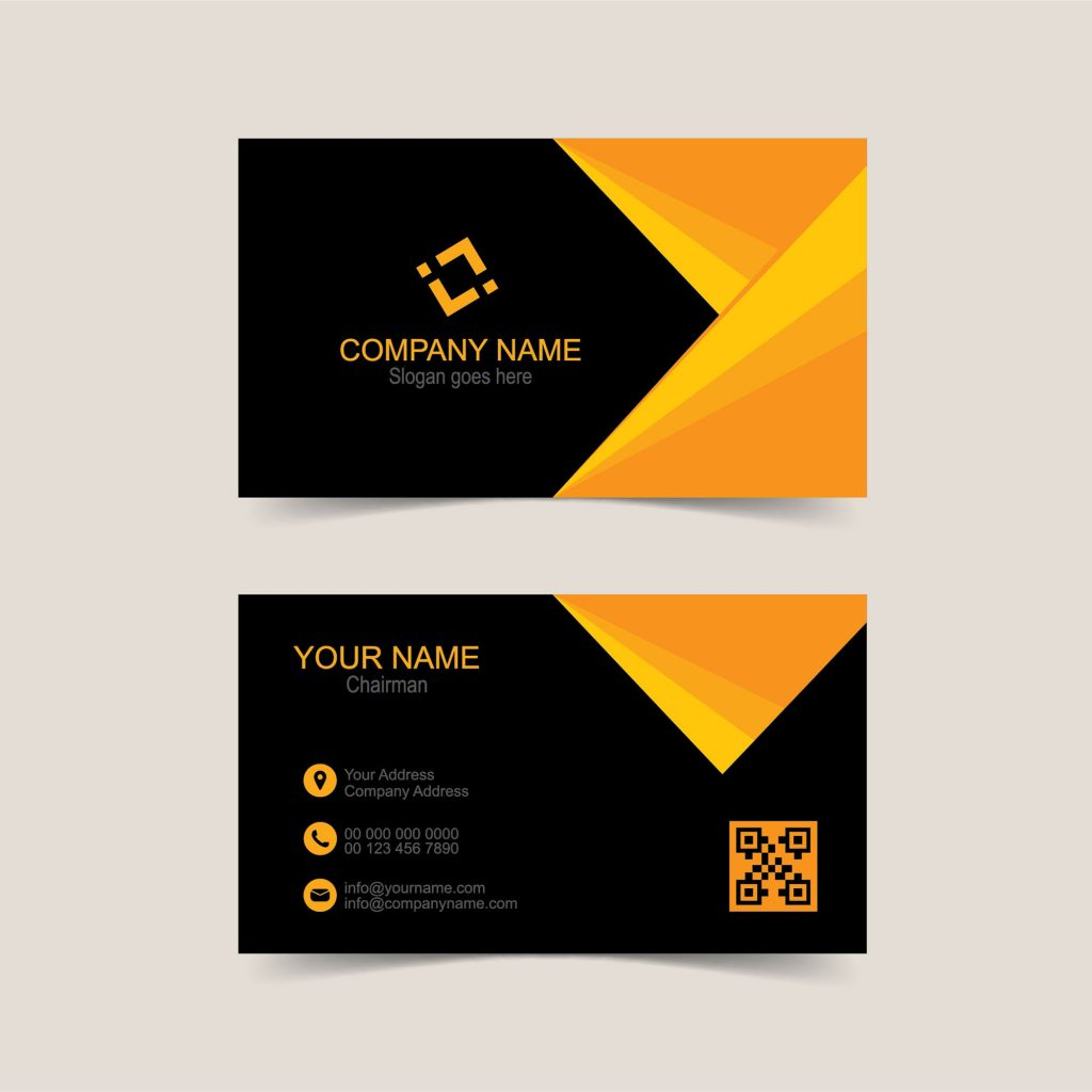 Business Card Template Vector Free Download Wisxi