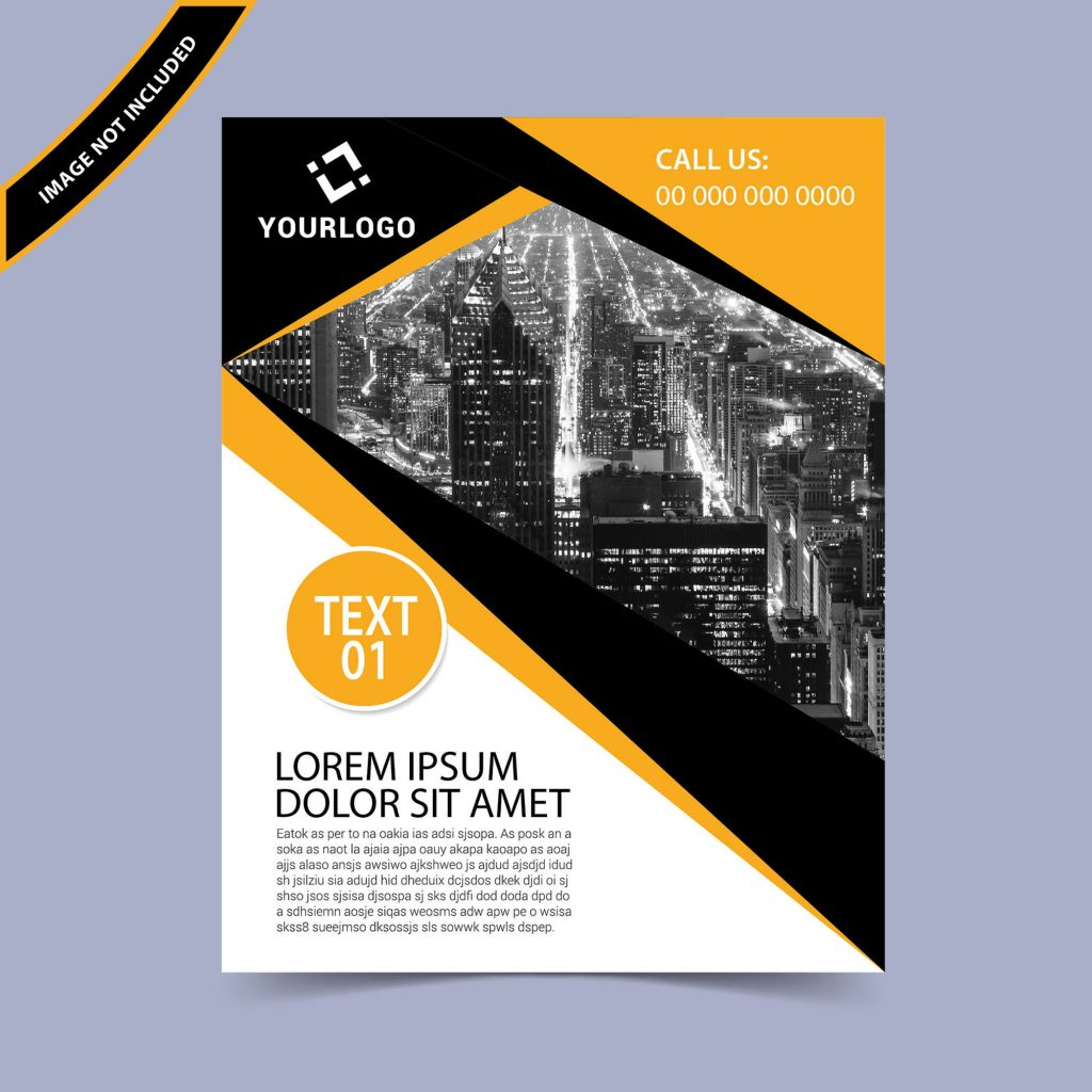 modern corporate business flyer design free download