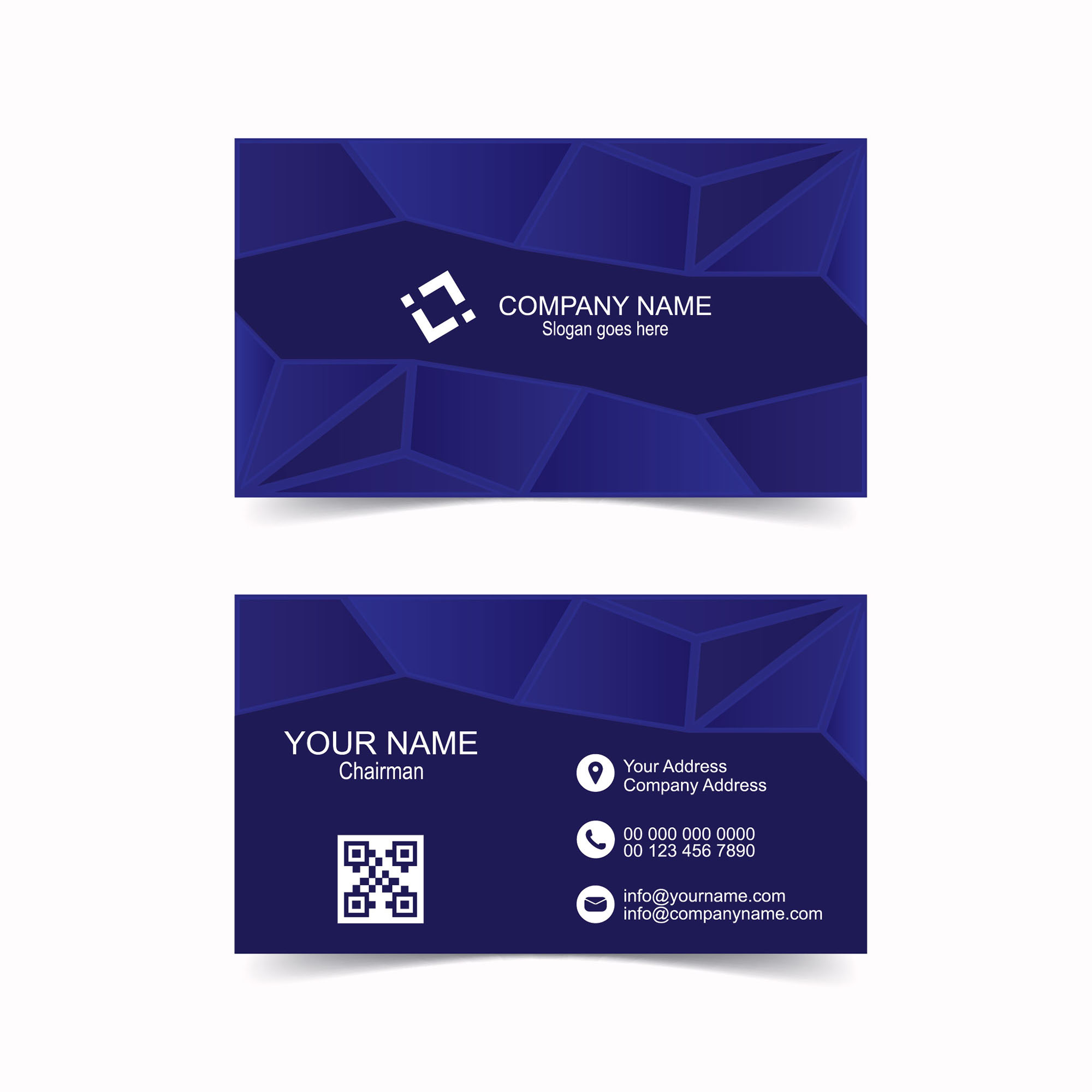 Abstract blue business card template free download wisxi business card business cards business card design business card template design templates cheaphphosting Gallery