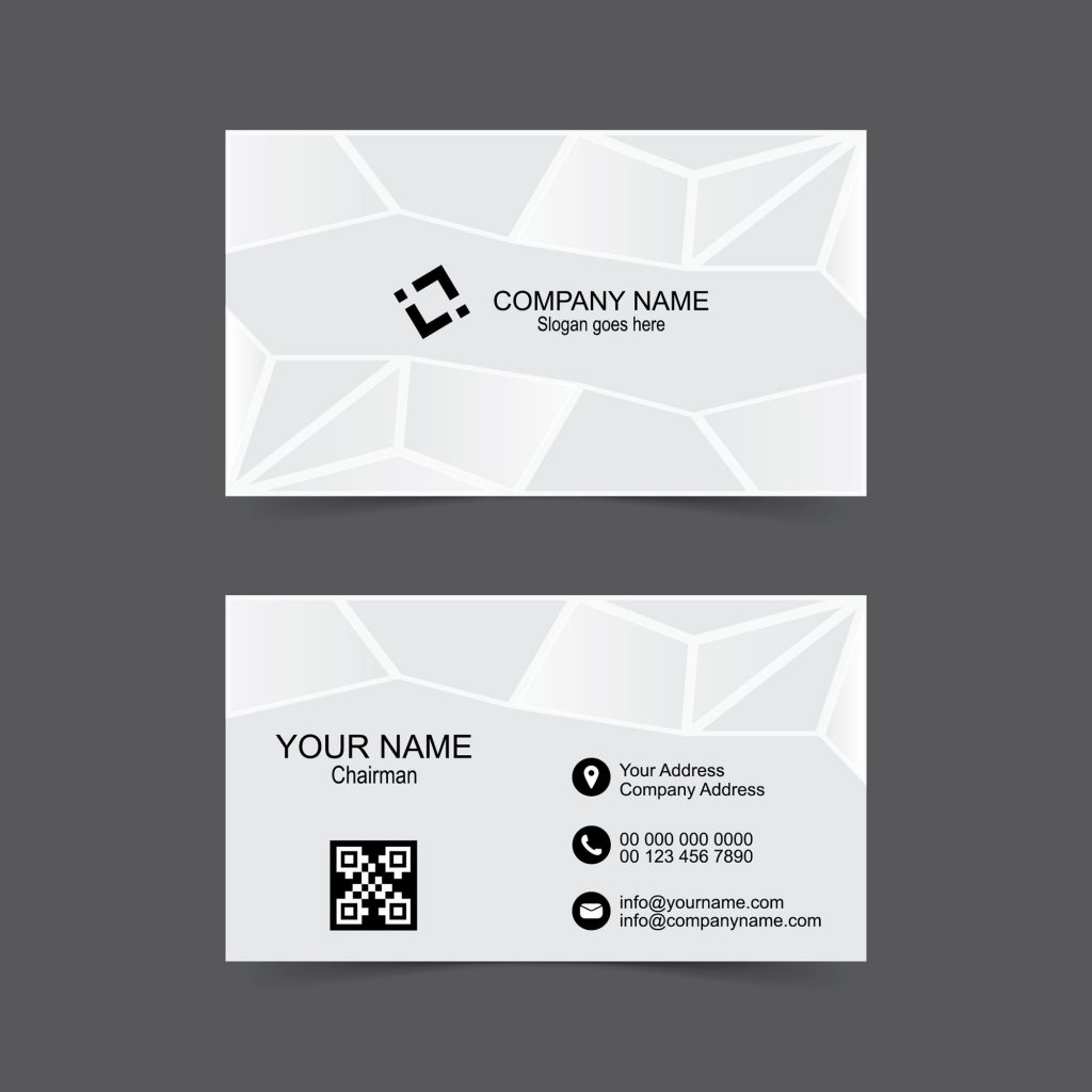 Abstract Name Card Design Free Download - Wisxi.com
