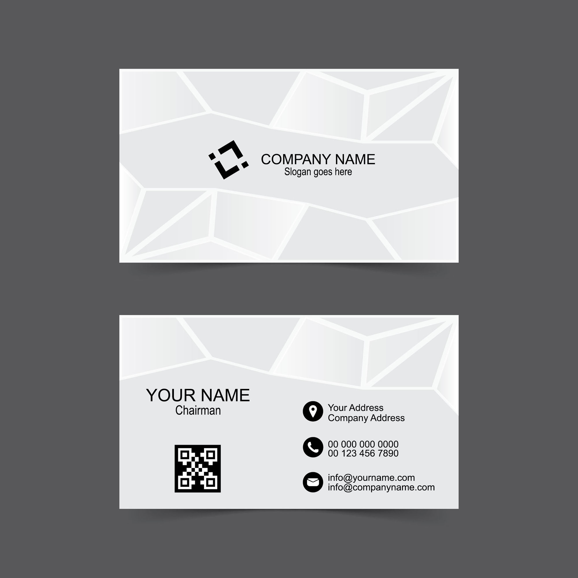 abstract name card design free download wisxi com
