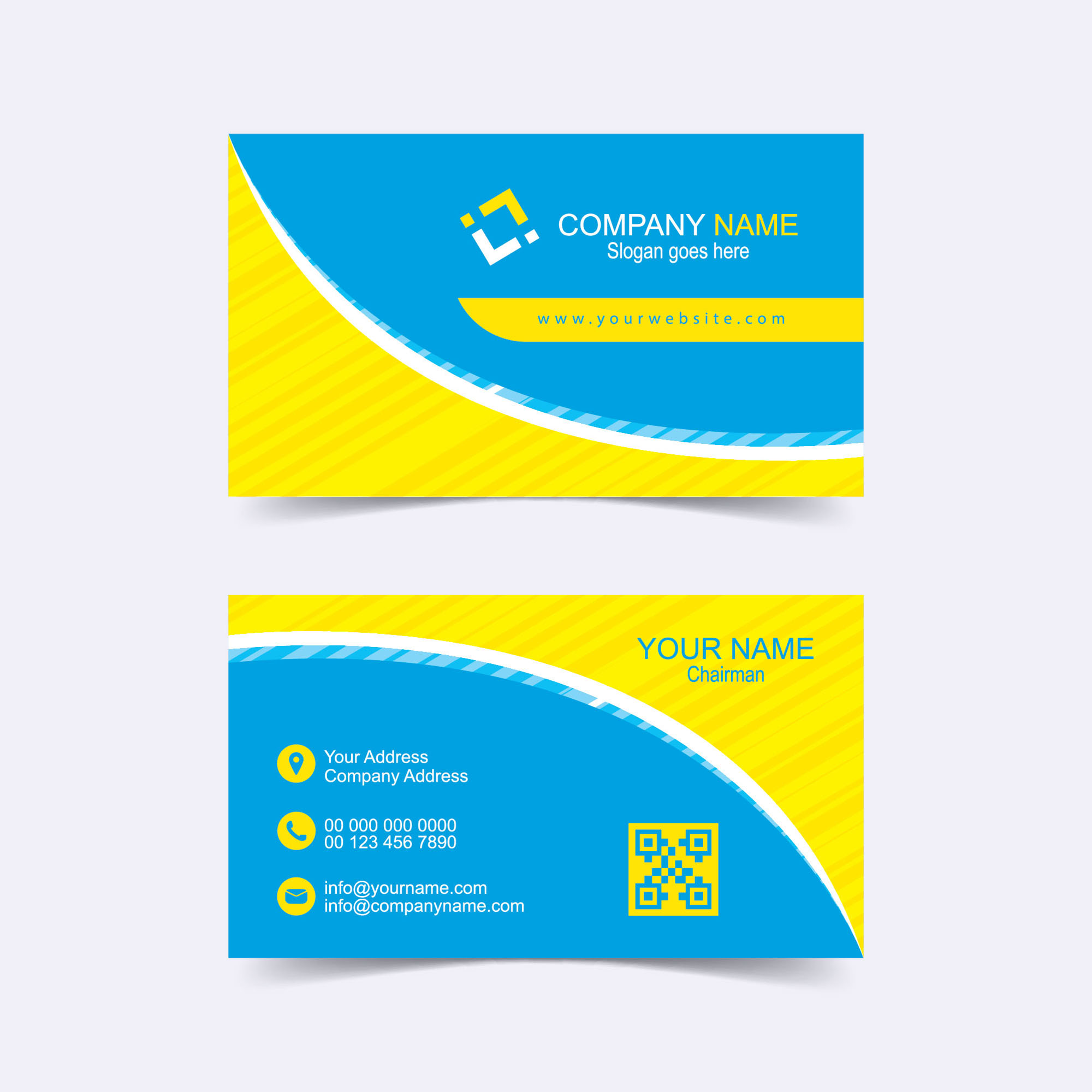 Free corporate business card template wisxi free corporate business card business card business cards business card design business card template design templates wajeb Images