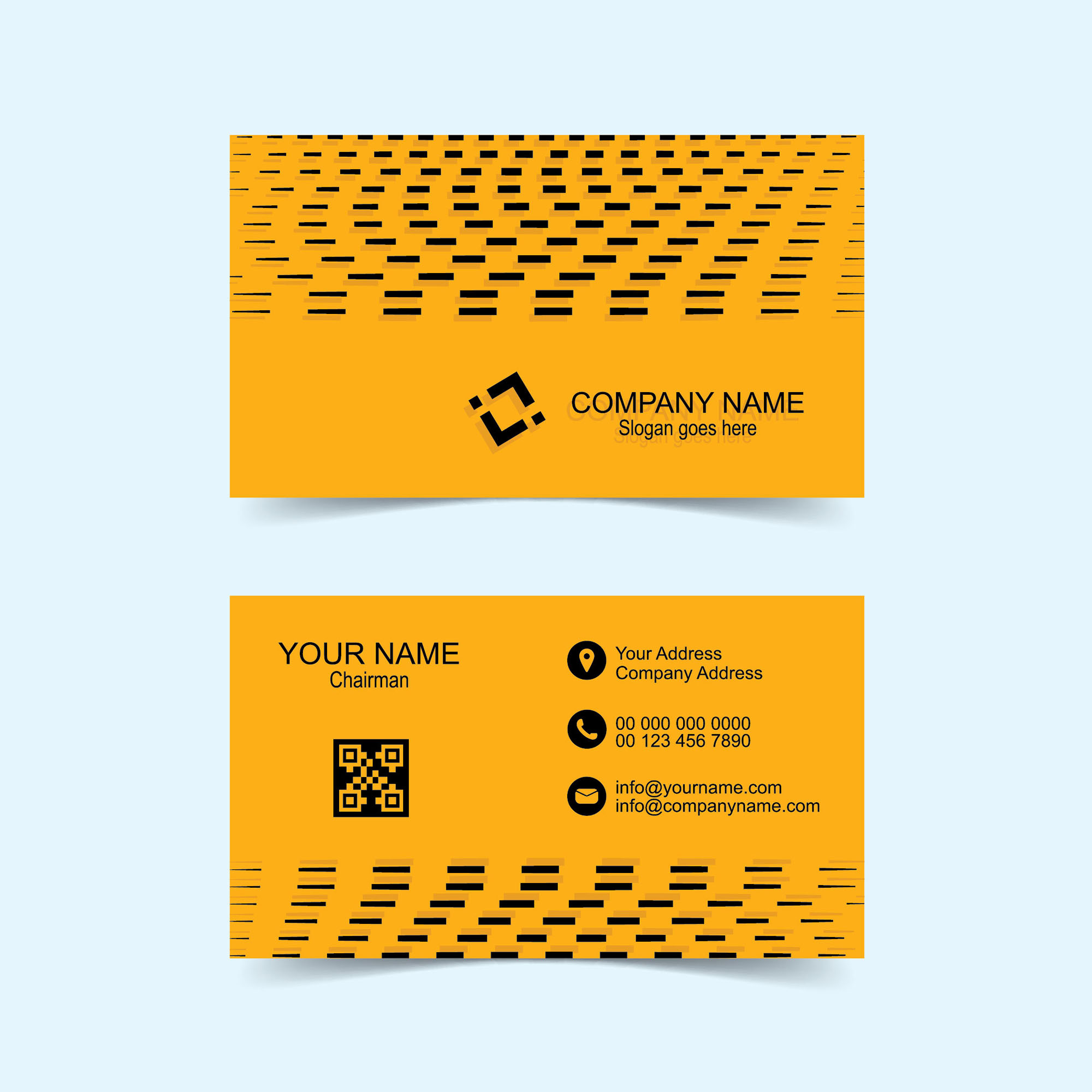 Free printable business card template download - Wisxi.com
