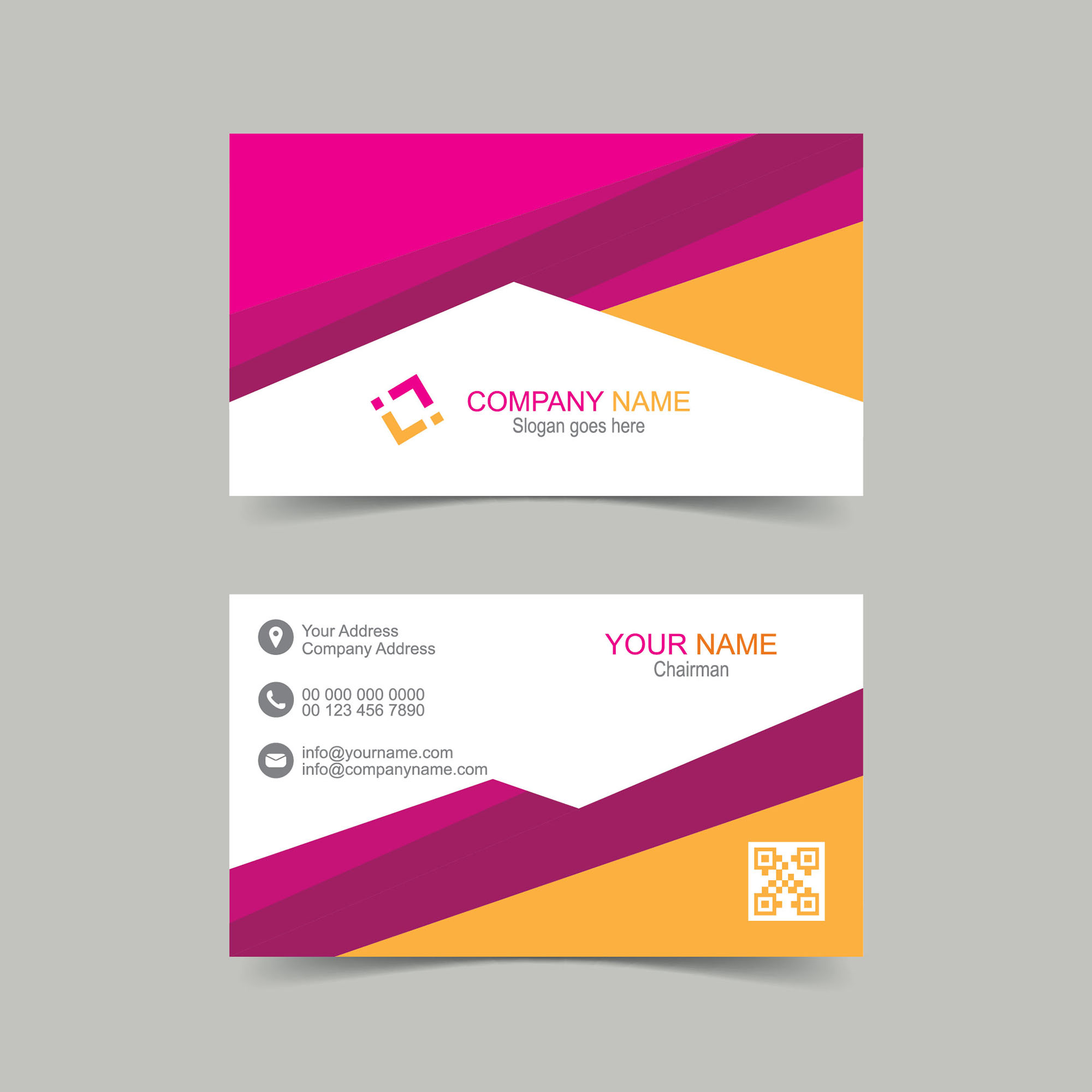 Vector business card design free download wisxi business card business cards business card design business card template design templates reheart Images