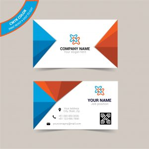 Double sided creative business card design