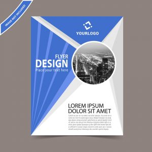 Vector flyer template
