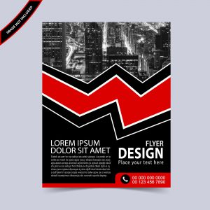 Editable flyer template