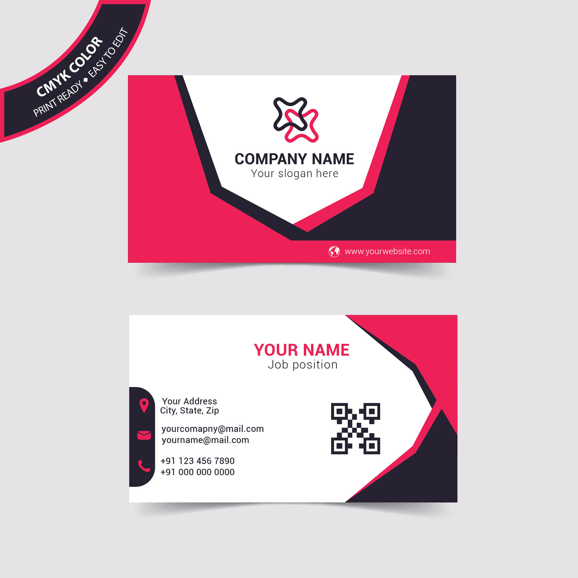 Personal name card design free download print template wisxi business card business cards business card design business card template design templates reheart Images