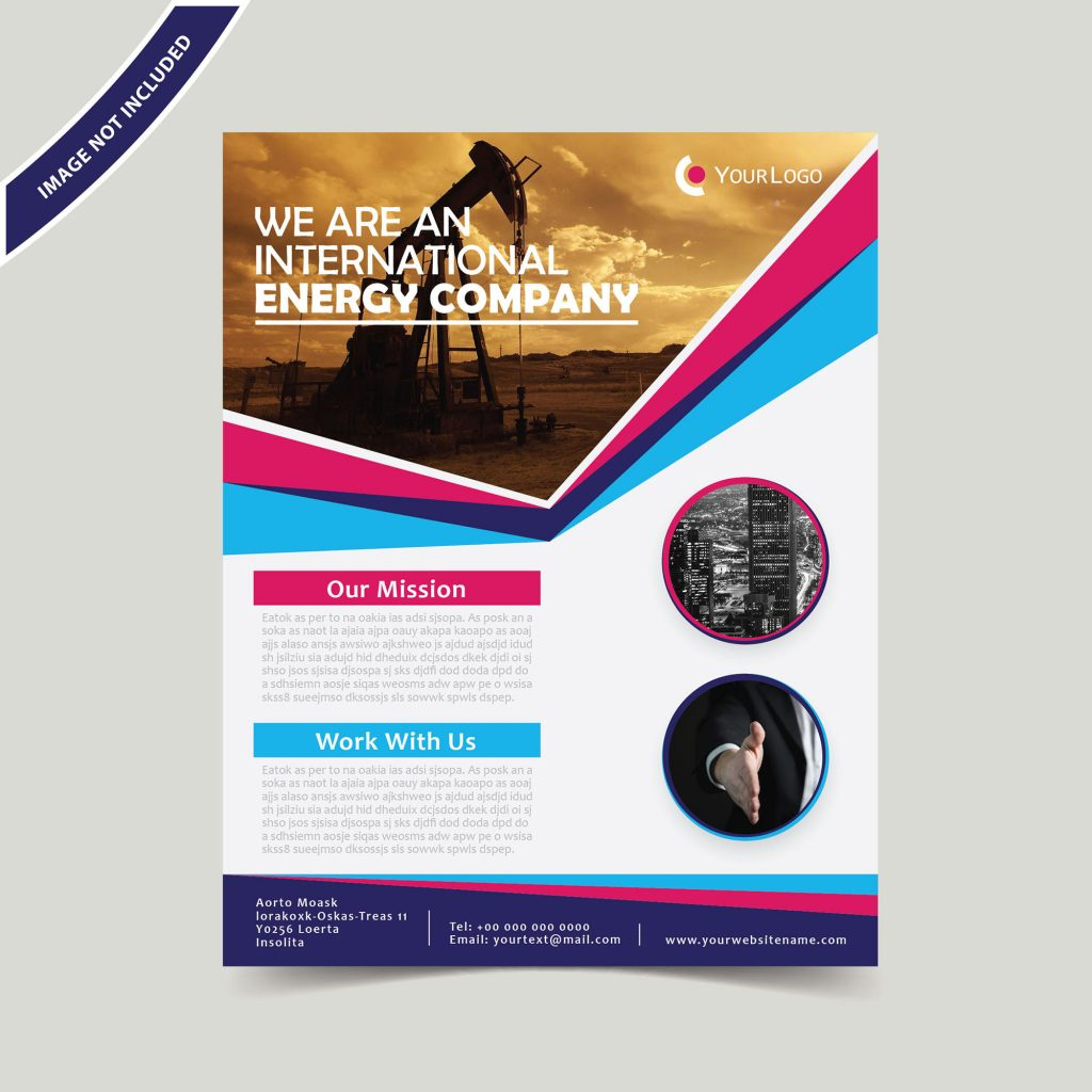 Professional Business Flyer Template Free Download Wisxi