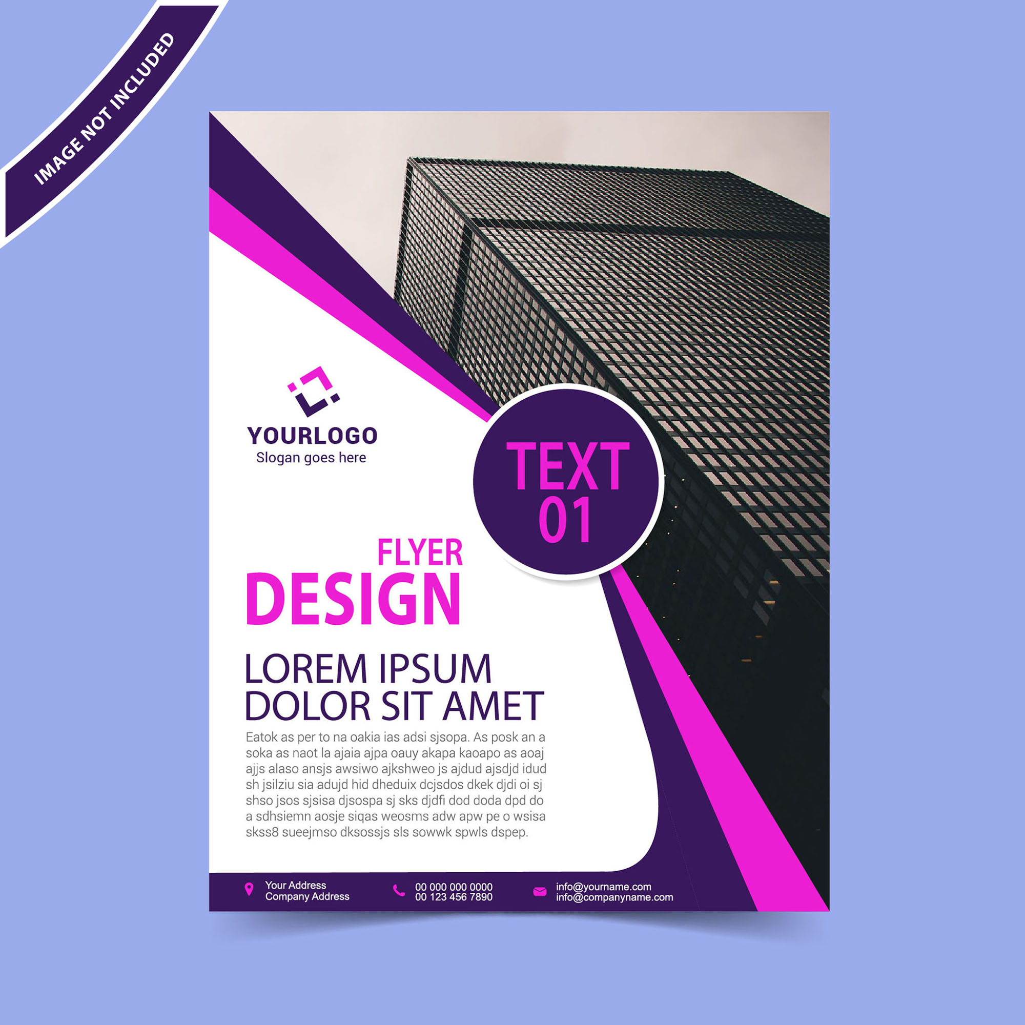simple flyer design template free download wisxi com