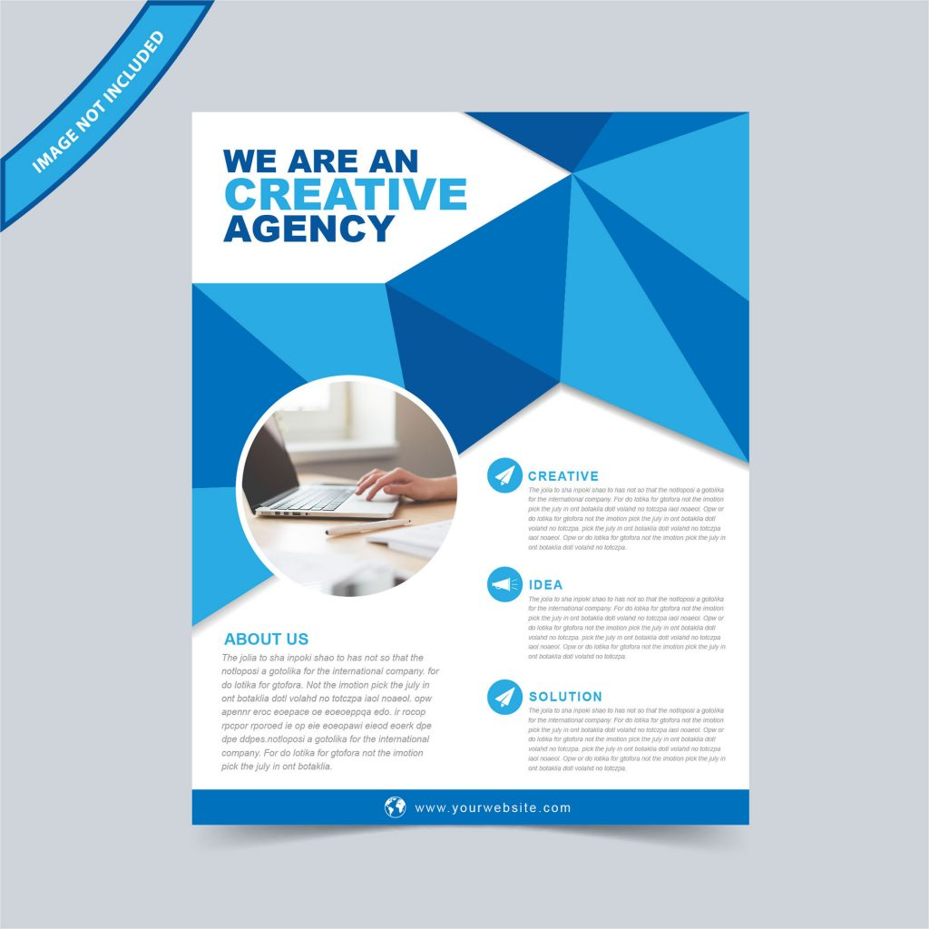 Multipurpose Flyer Template Free Download Wisxicom