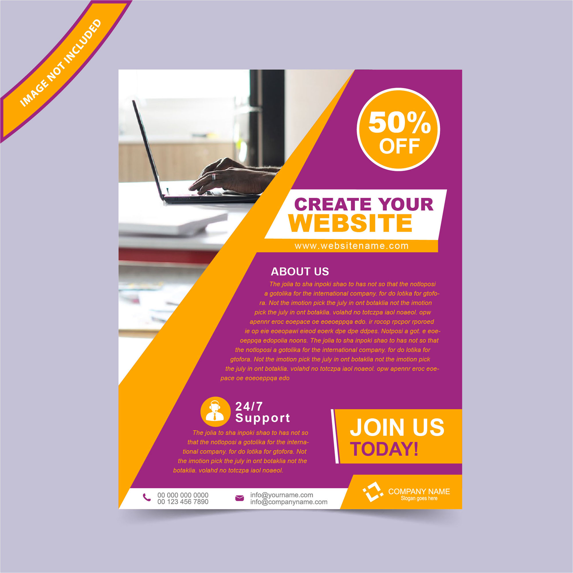 Flyers, Flyer Design, Flyer Template, Free Flyer Design, Abstract, Business,  Advertising Flyers Templates Free