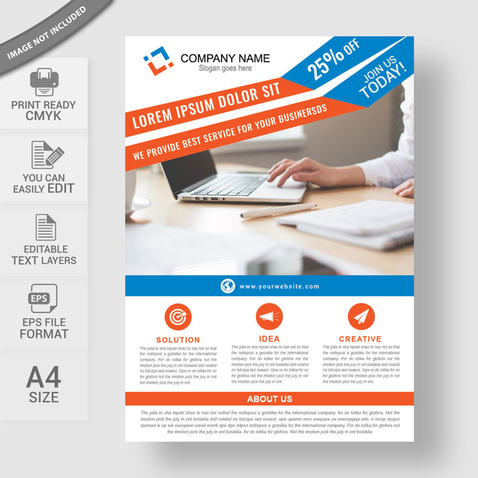 Professional business flyer template free download wisxi flyers flyer design flyer template free flyer design abstract business saigontimesfo