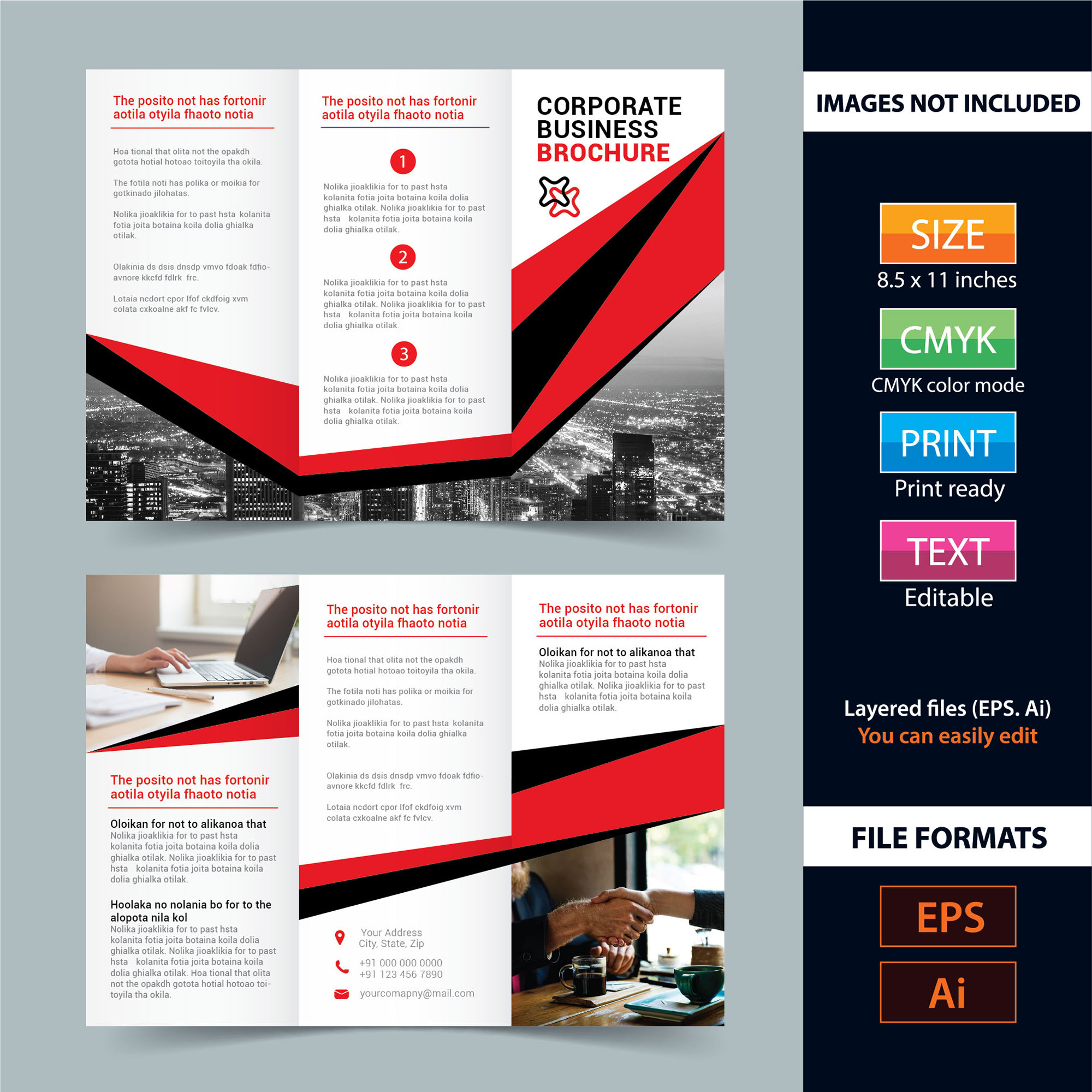 brochure template brochure free download wisxi com
