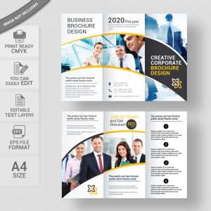 Creative business brochure design