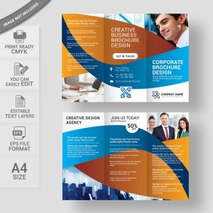 Corporate brochure layout