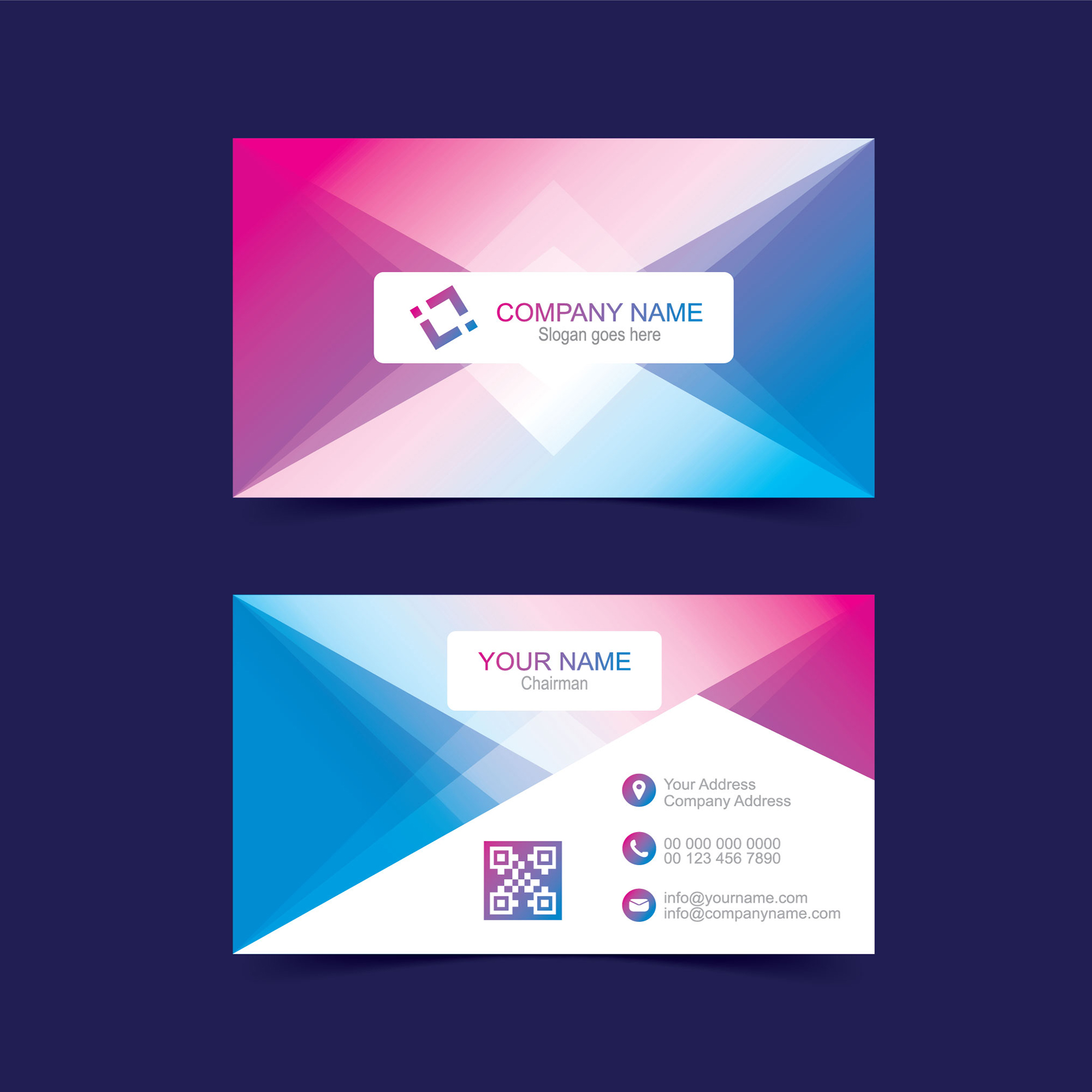 Business card template free download free vector wisxi business card business cards business card design business card template design templates cheaphphosting Image collections