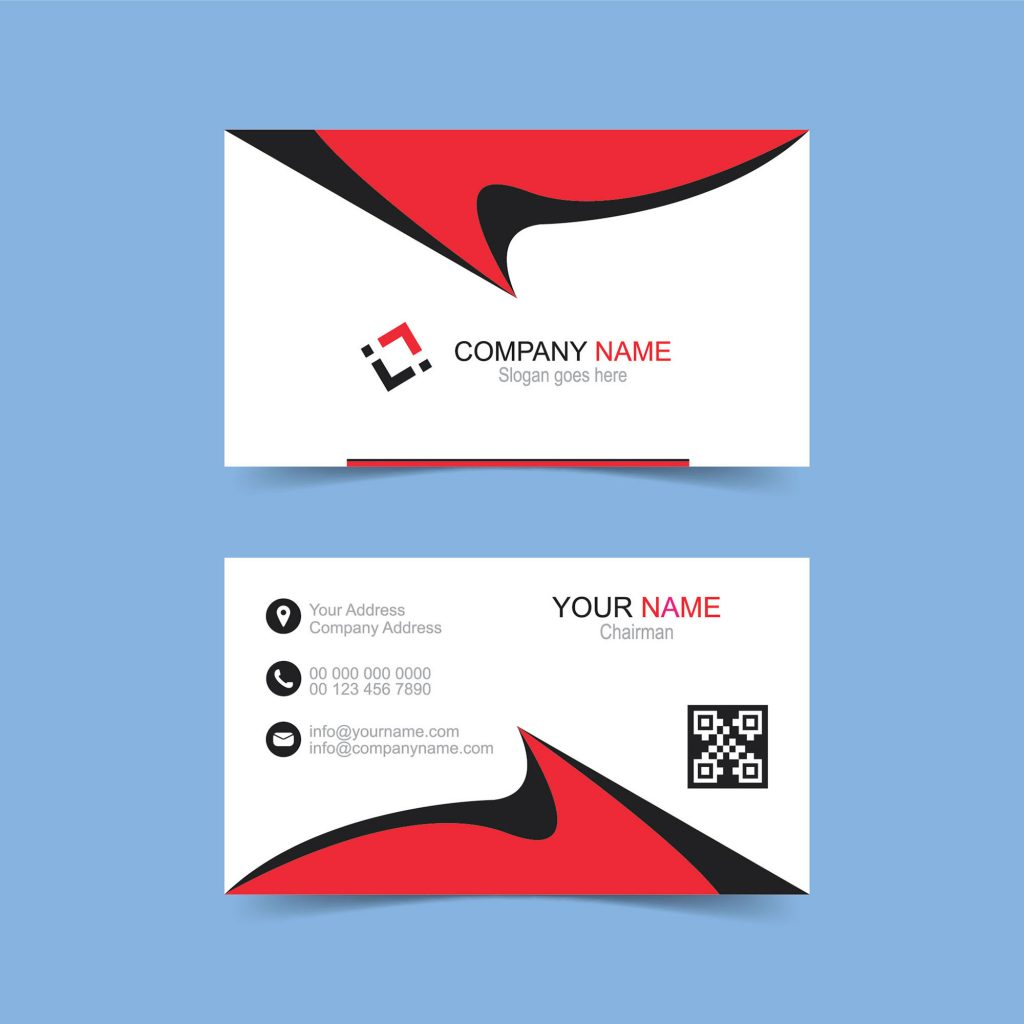 Double Sided Business Card Free Download Wisxicom - Double sided business card template