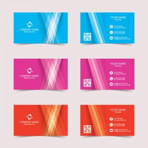 Business card creative template