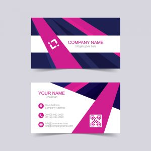 Vector creative business card