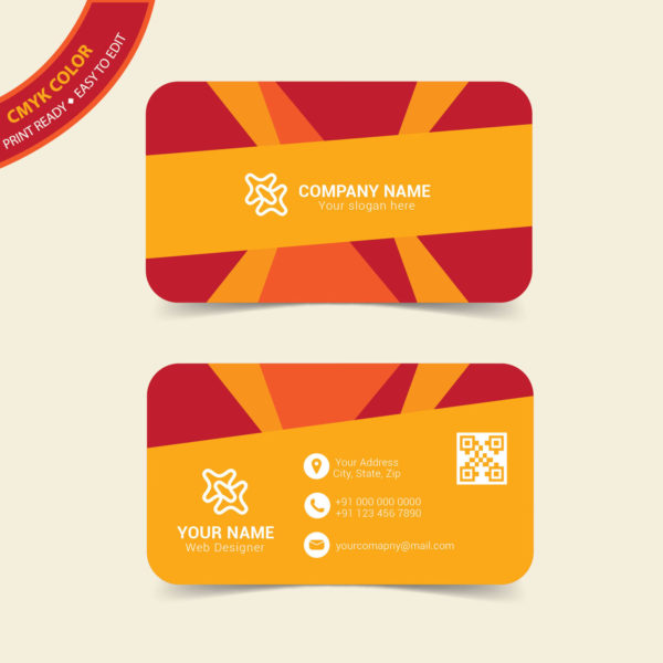 Free vector business card template download wisxi friedricerecipe Choice Image
