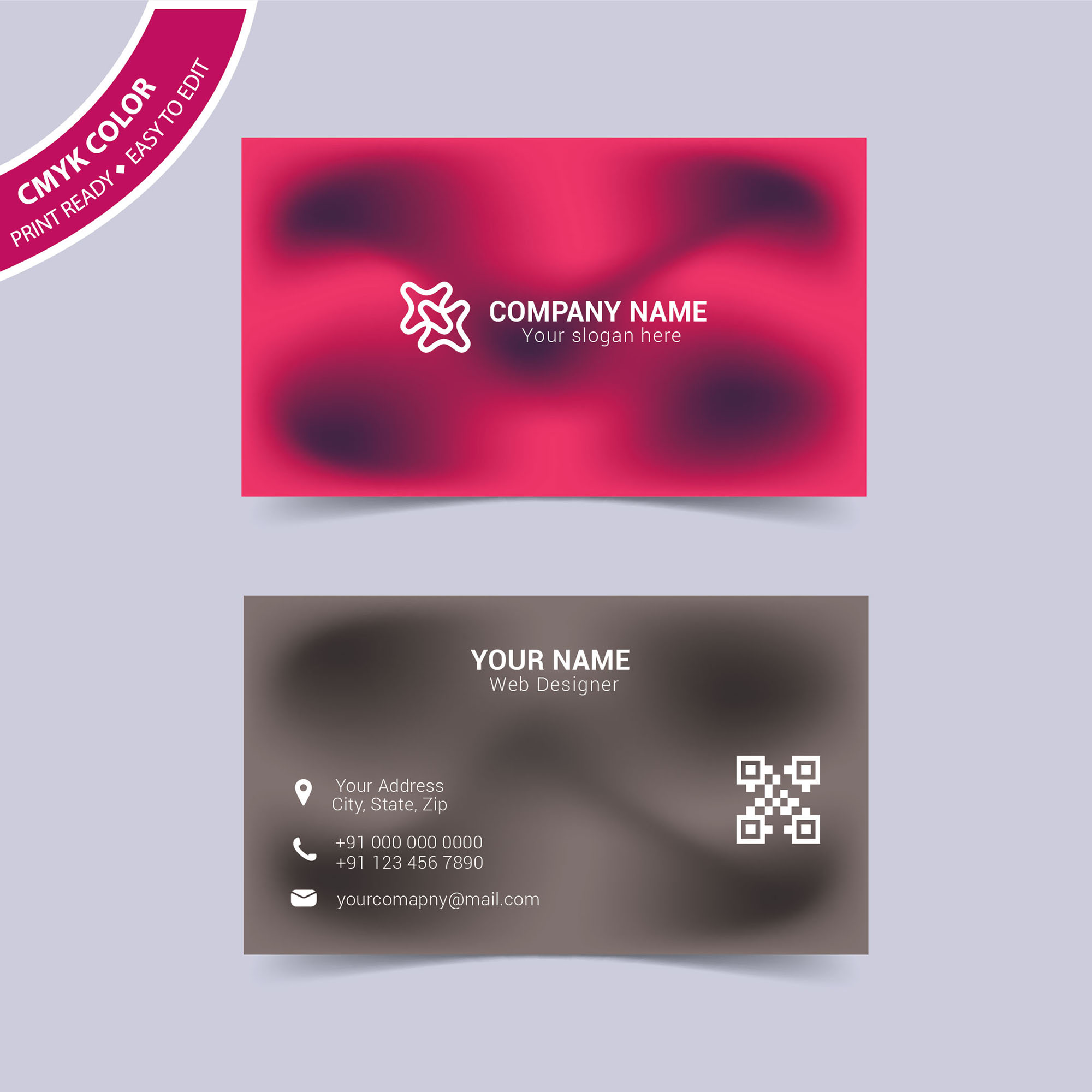 Modern abstract business card free download wisxi business card business cards business card design business card template design templates flashek Choice Image