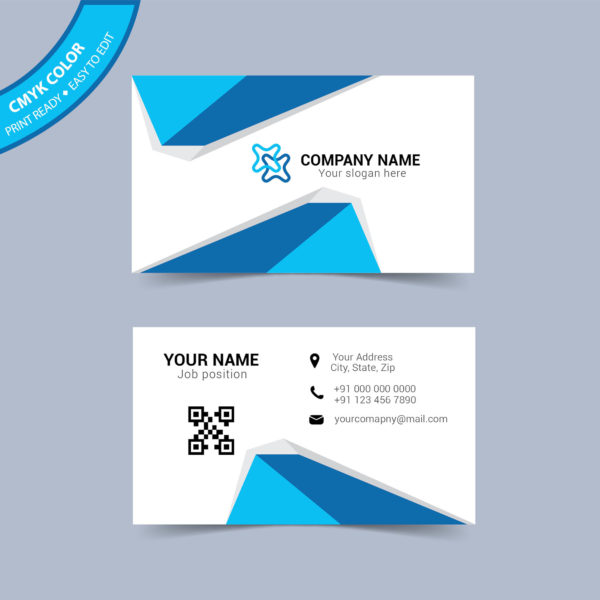 Business card layout template free download wisxi flashek Image collections