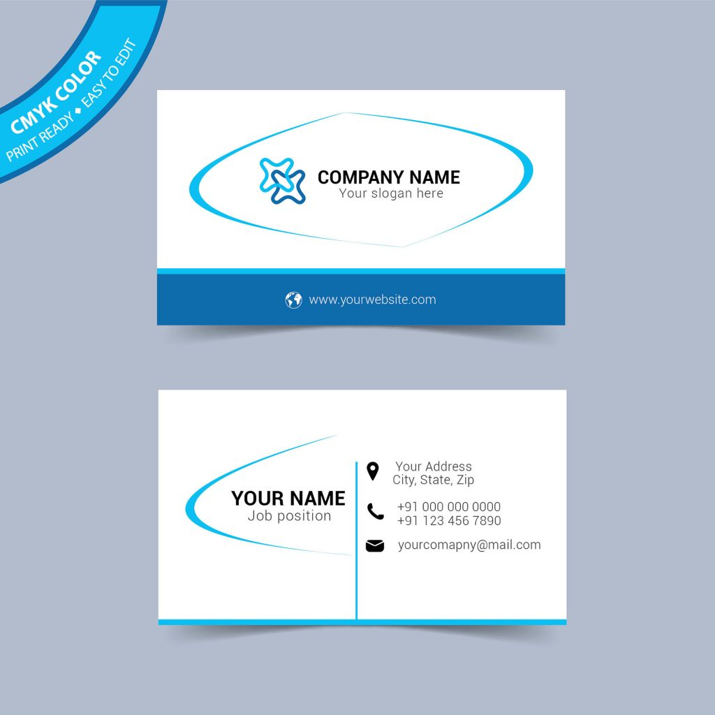 Business Card Sample Free Download - Free Vector - Wisxi.com