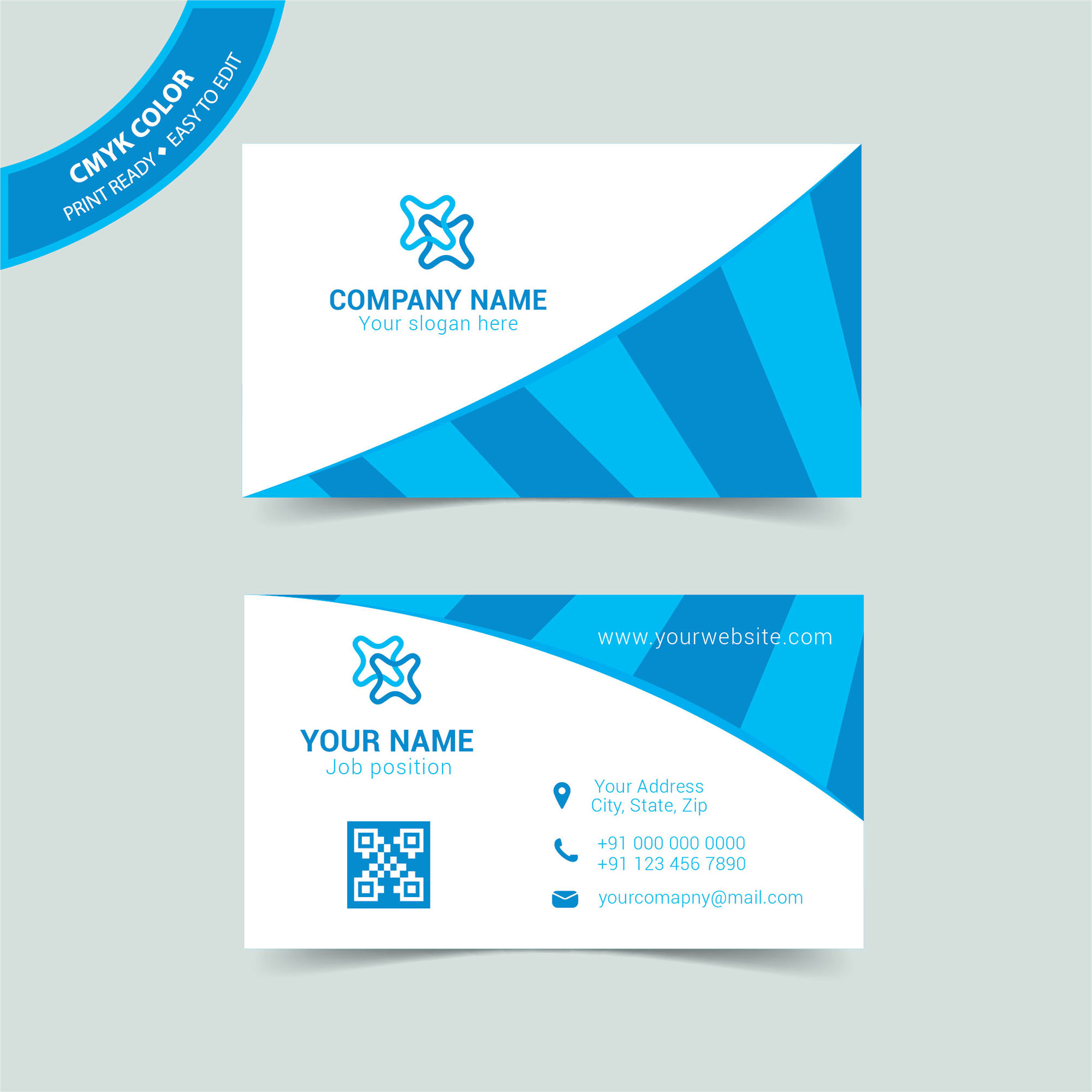 Professional Business Card Templates Free Download - Wisxi.com