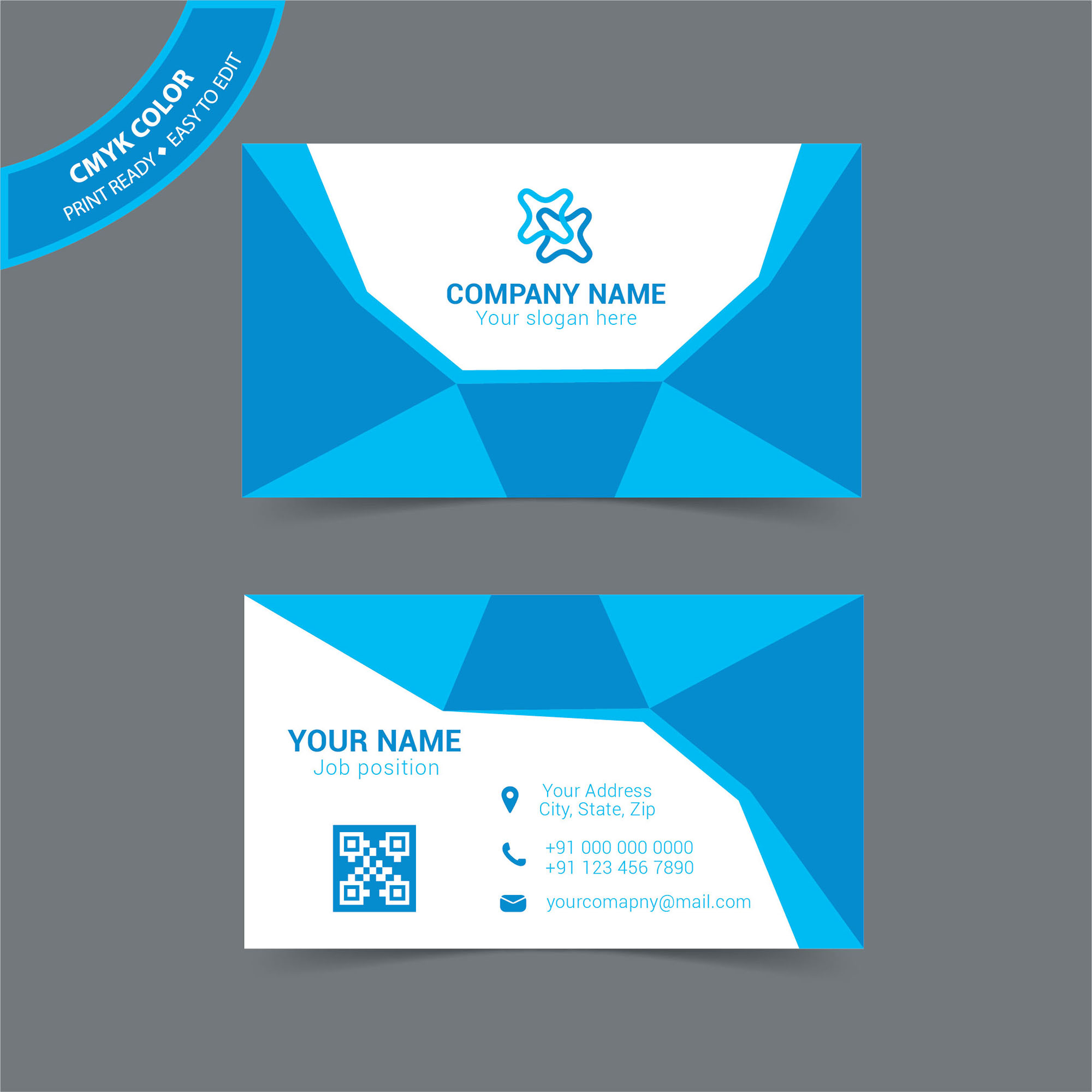 corporate business card template free download wisxicom