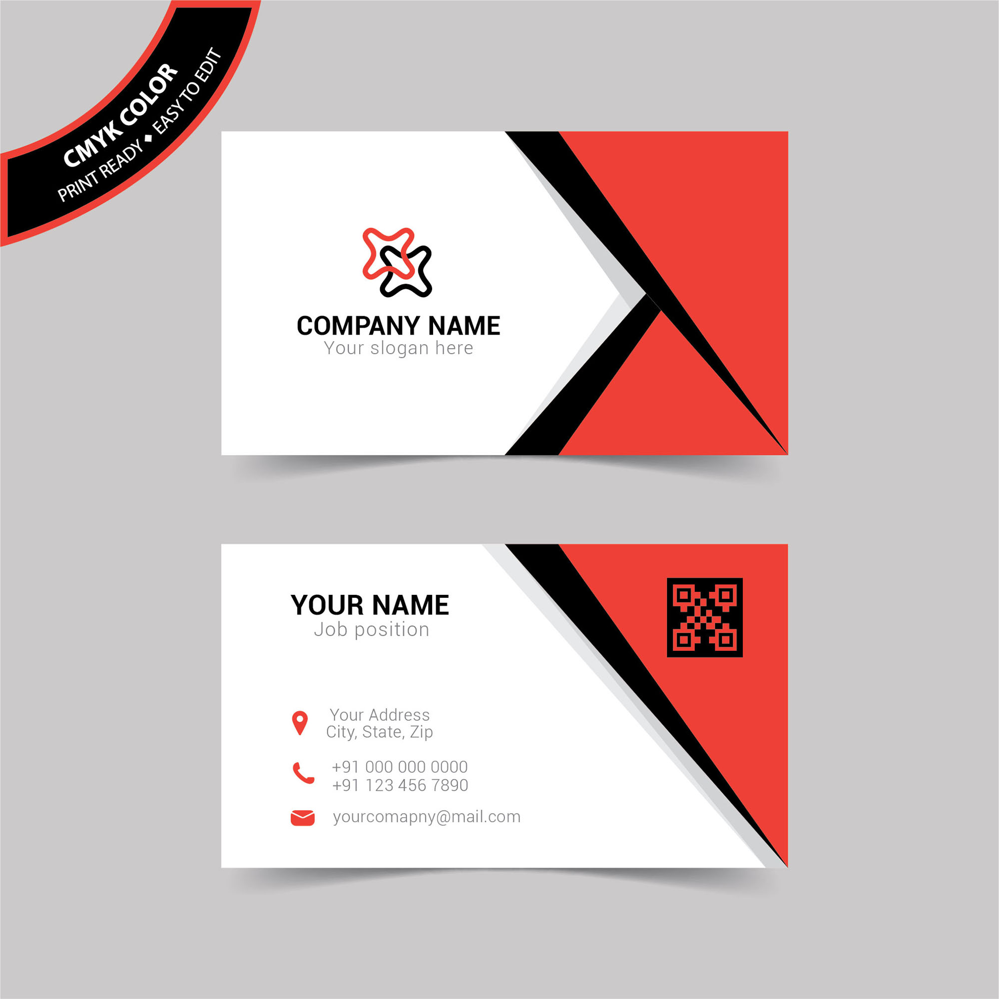 Simple corporate business card free download wisxi business card business cards business card design business card template design templates flashek Image collections