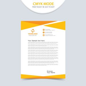 letterheads, letterhead design, letterhead template, print template, vector, abstract, business, letterhead, design, modern, presentation, template, company, document, brochure, print, concept, cover, letter, page, pattern, creative, trendy, vector, layout, corporation, flyer, size, graphics, leaflet, corporate, blue, yellow