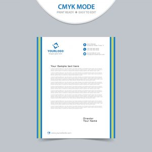 Free simple letterhead design