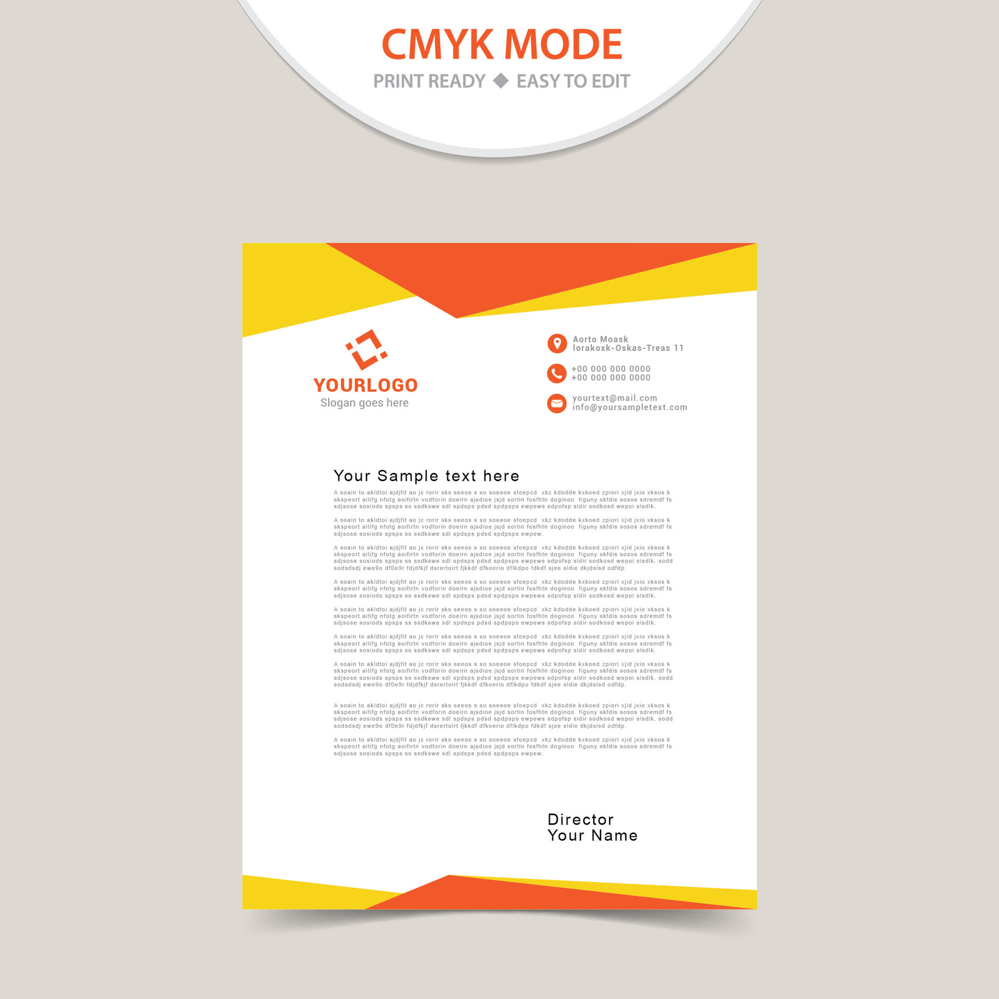 free download letterhead templates