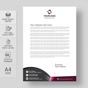Free business letterhead download