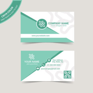 Modern creative business card design