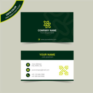 Modern creative business card template