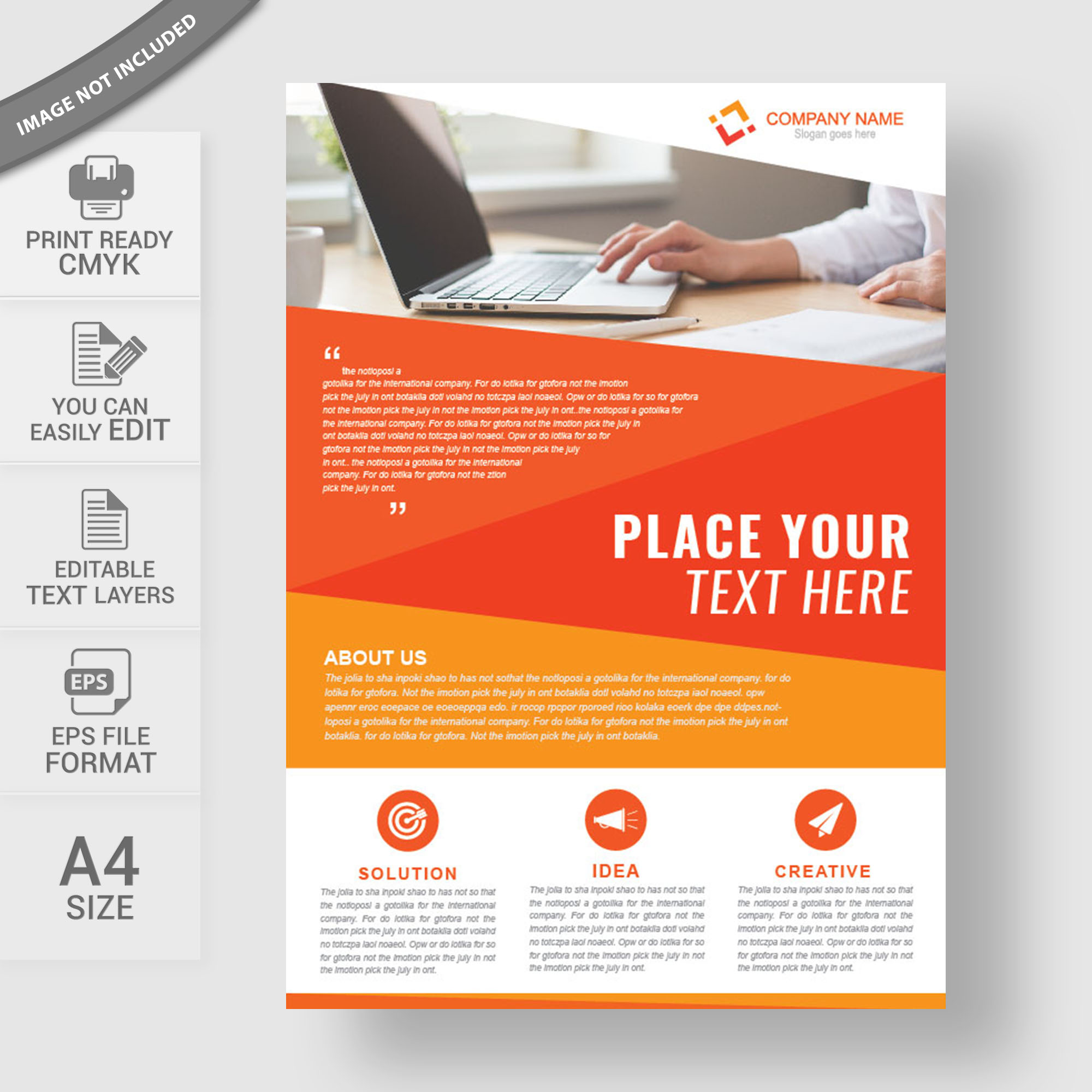 Corporate business flyer design free download wisxi flyers flyer design flyer template free flyer design abstract business cheaphphosting Images