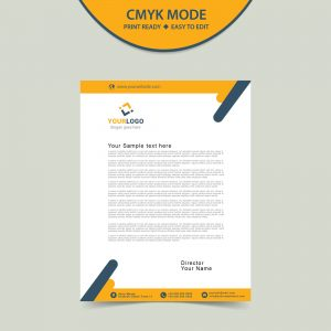 Free letterhead template download