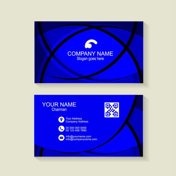 Blue business card background free download wisxi colourmoves