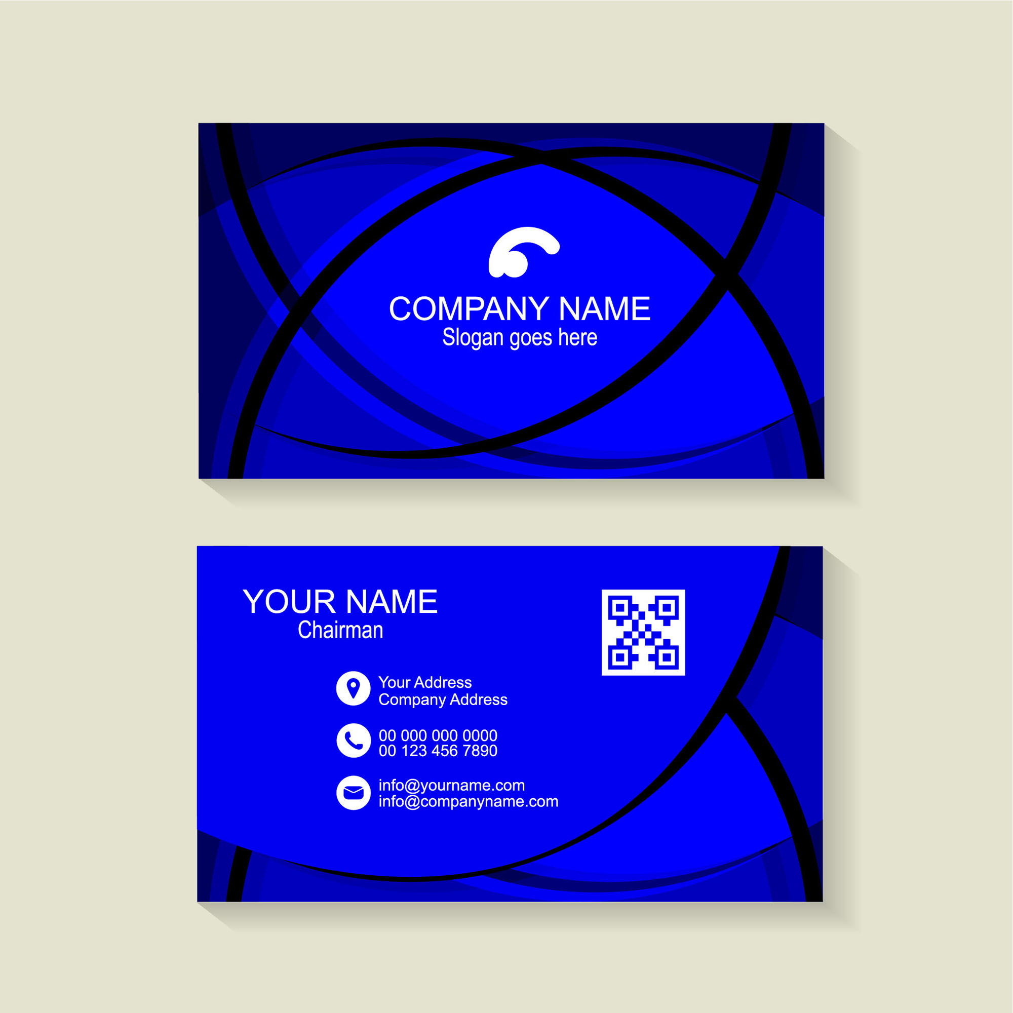 Blue business card background free download wisxi business card business cards business card design business card template design templates cheaphphosting Image collections