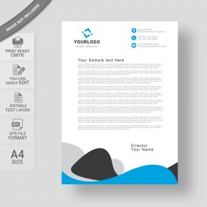 Corporate business letterhead design