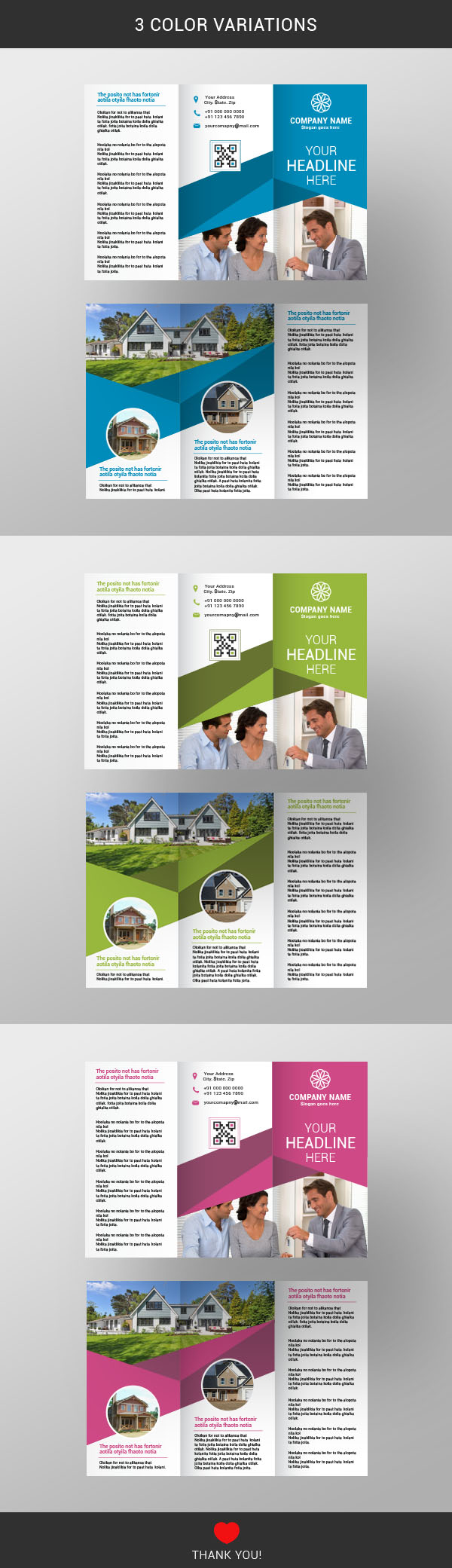real estate brochure template abstract advertising annual book corporate brochure business design