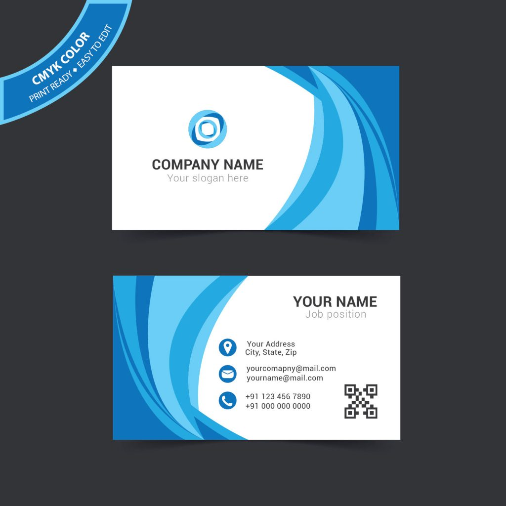 Simple Creative Business Card Design Free Download - Wisxi.com