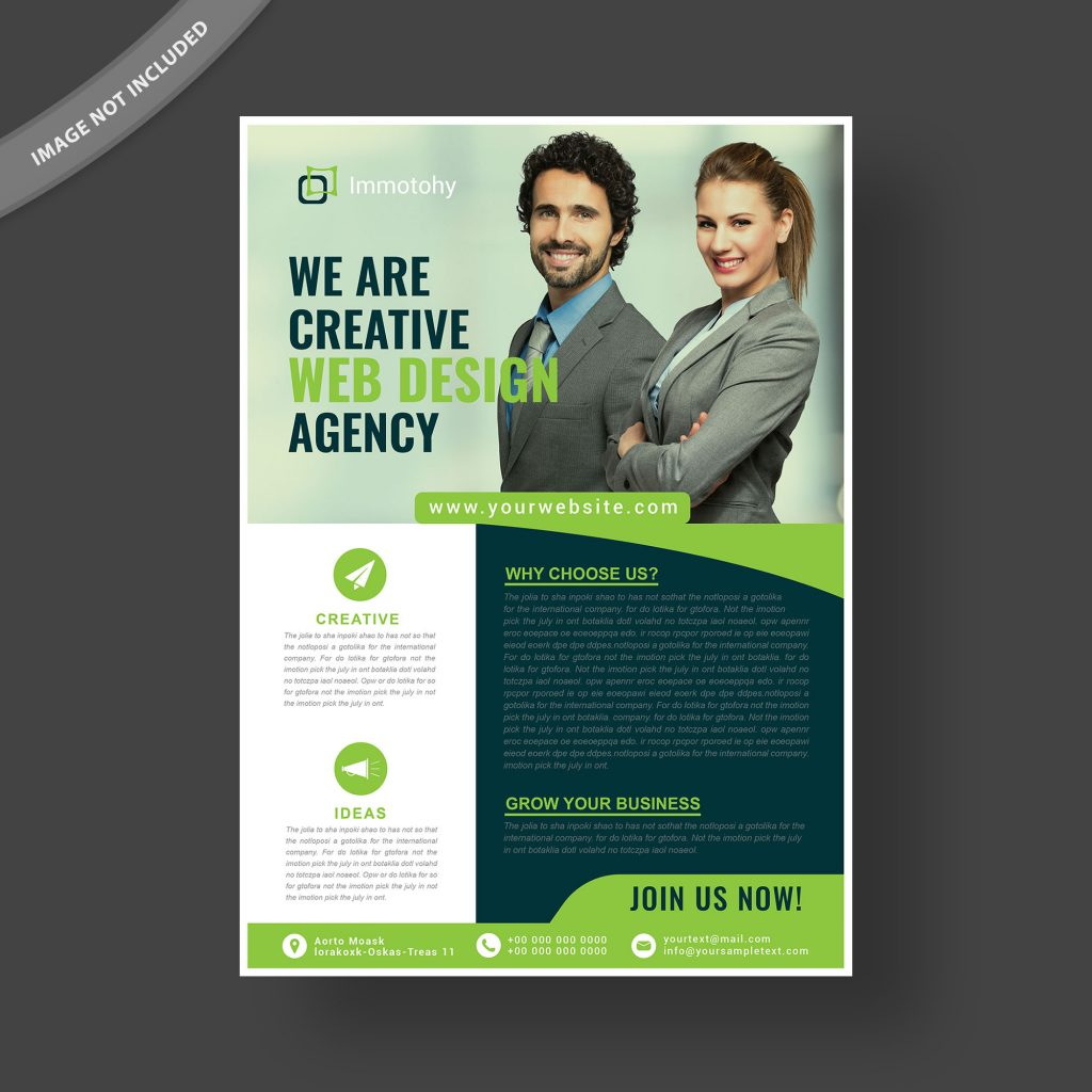 multipurpose business flyer template free download wisxi com
