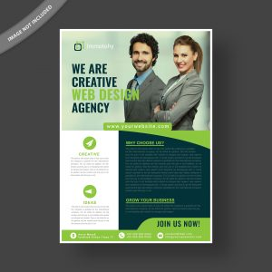 Professional corporate flyer template