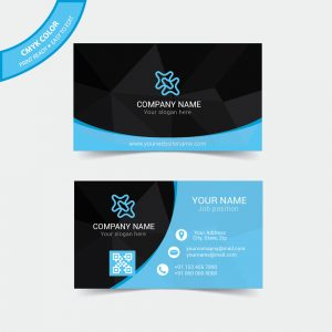 Creative vector business card
