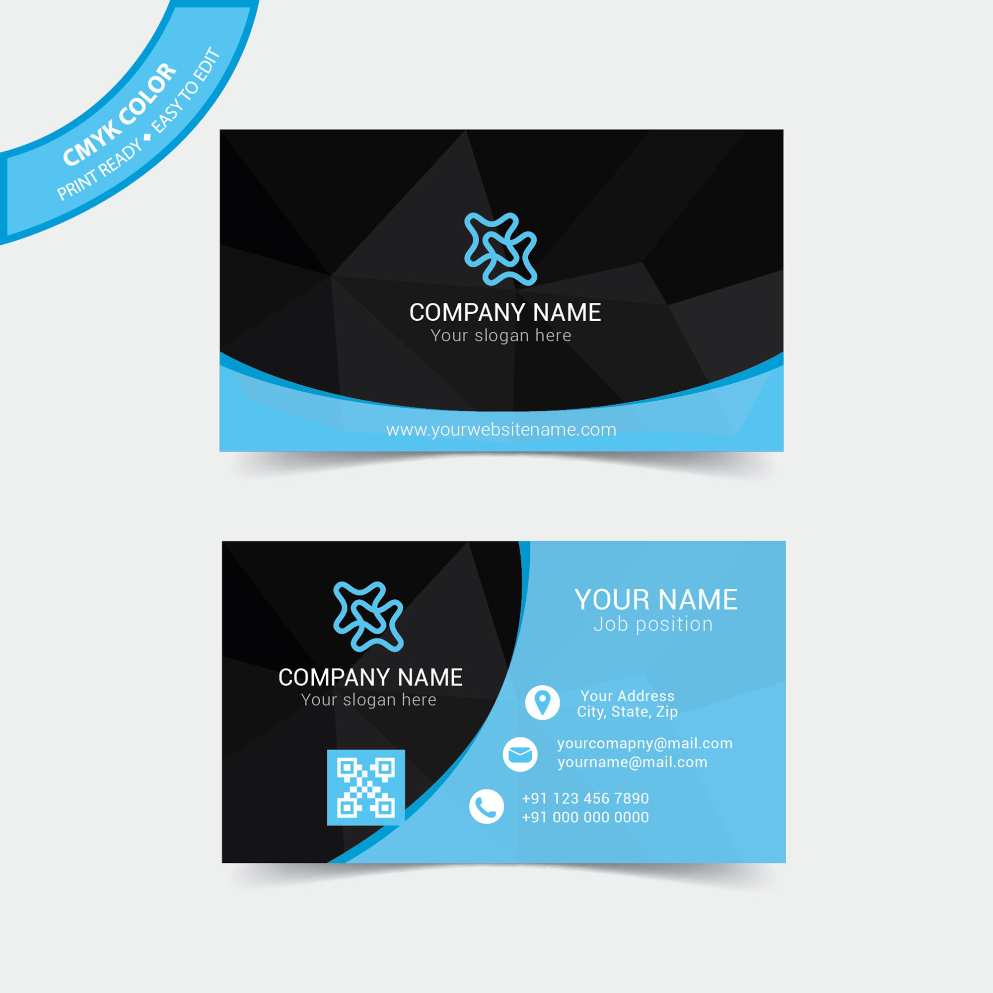 Business Cards Free Download for Commercial Use - Wisxi.com