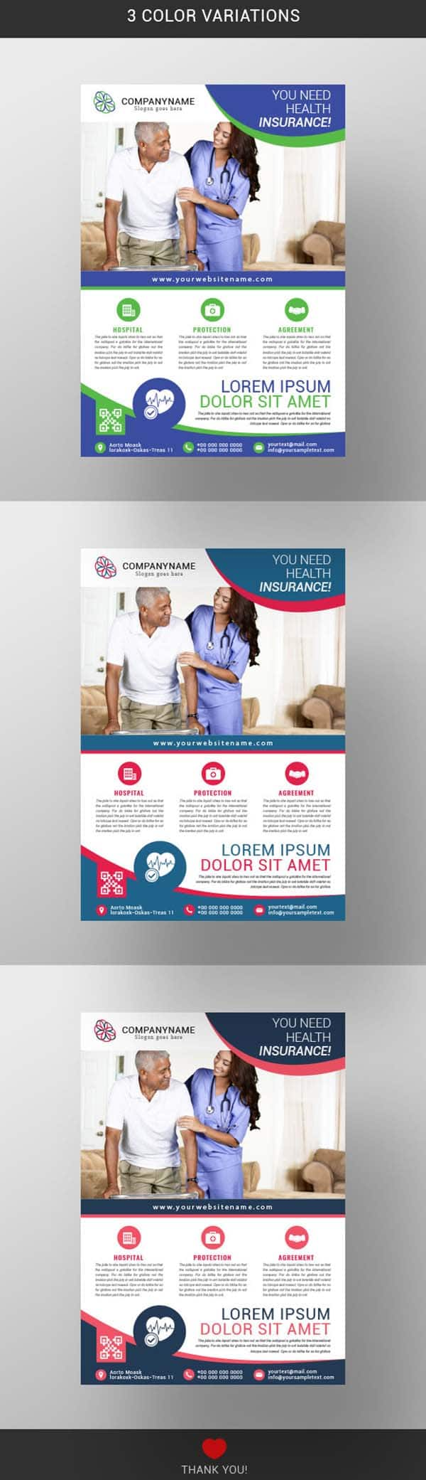 Health Insurance Flyer Template Free Download Wisxi