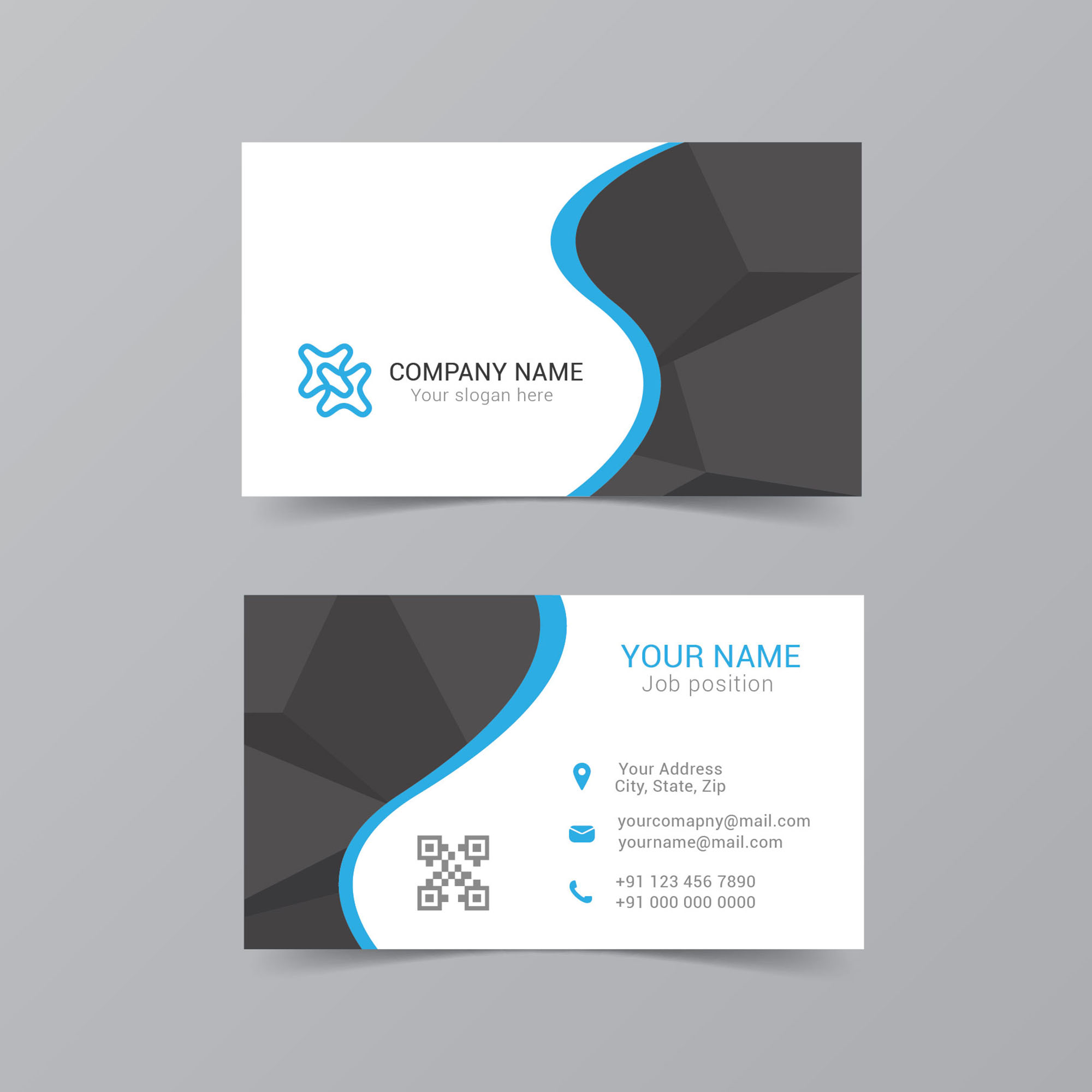 Business visiting card design free download wisxi business card design visiting card clean simple colourmoves